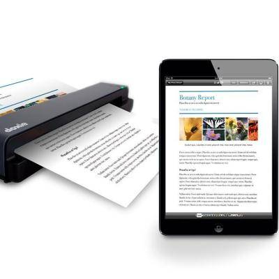 Scan Papers on the Go with Doxie